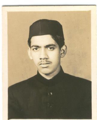 Engr Iqbal Khan in 1962