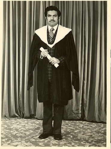 Engr Iqbal Ahmed Khan in 1970