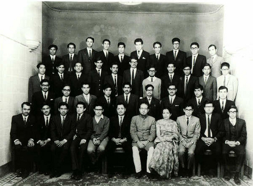 NED Govt Engineering College Group of Mechanical Class 1969