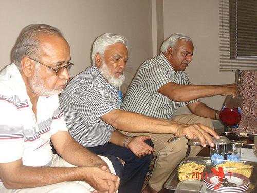 MA Matin, Kamal Farooqi, and Ghulam Qutubuddin Khan