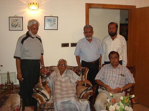 Kamal Farooqi, IA Chistey, Iqbal Khan, Atique Ur Rehman, and Abdur Rehman
