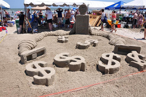 Sand Sculptures on Galveston Beach (3)