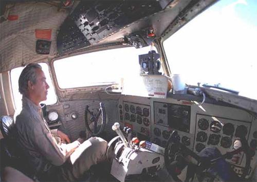 Capt. Hank Lambert in F-27 - 1971