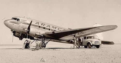 Aramco N-721A in Turaif – 1956