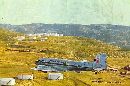 Tapline N-718A over Sidon Terminal – 1960