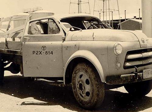 VHF Survey Truck