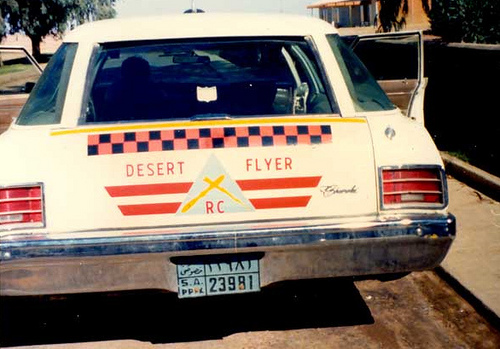 """Desert Flyer "" – My Favorite Chevvy – Turaif 1983"