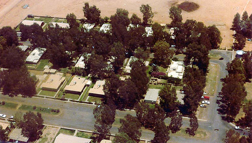 Aerial View of Turaif Housing Area - 1979