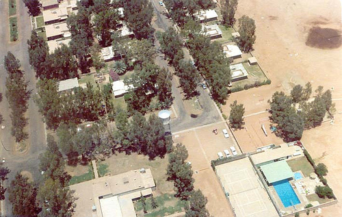 Aerial View of Turaif Housing – 1978