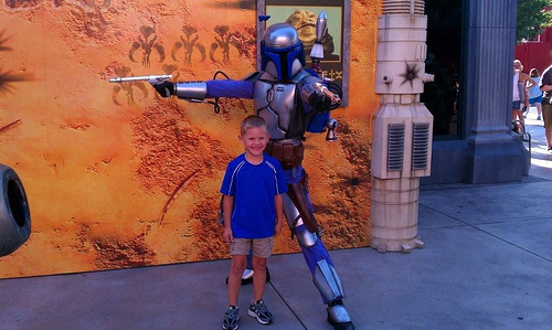 Brody at Star Wars Weekend