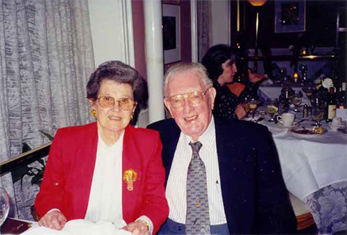 William R. (Bill) Chandler and Clair - May 1999