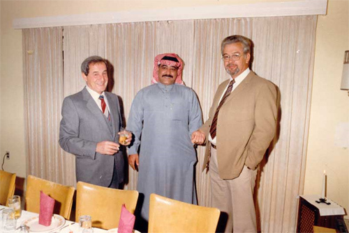 Selim Socrate, Mustafa Nujaidi, and John Makkinje - 1982