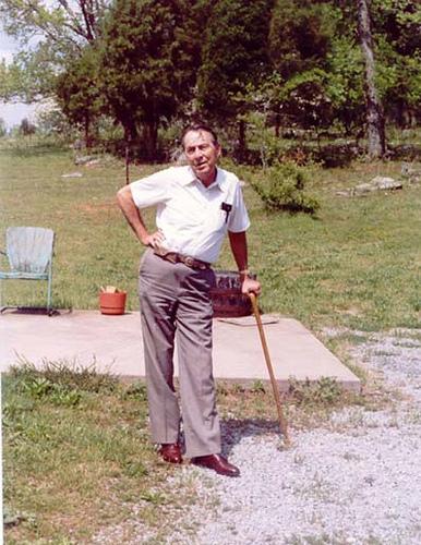 Bill Picket at Cedar Hill, TN – 1989