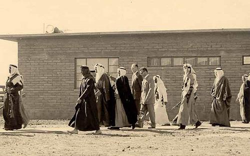 King Saud Visits Turaif – 1954
