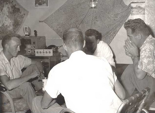 John Makkinje  and  Dick Klein Obbink's 16 X 16 Bachelor Housing –  Turaif 1954