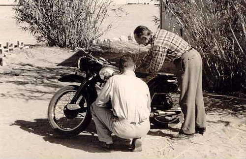 Bike Inspection by Bruno Bartocci – September 1955