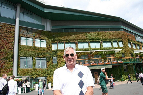 Ray Stevens at Wimbledon (1)