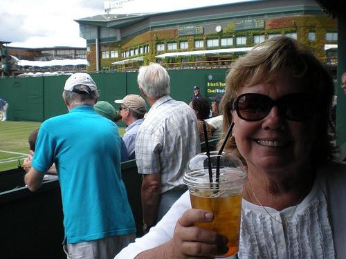 Sheila Stevens at Wimbledon (2)