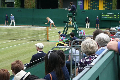 Wimbledon 2011 - Day Five