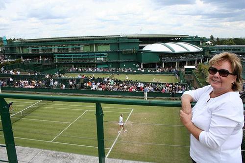 Sheila Stevens at Wimbledon (1)