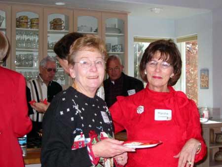 Meg Watson and Marsha Lindeken