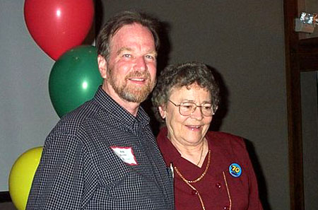 Bob Bewley and Marge Johansson